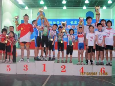 20121013 番禺市橋速度滑輪邀請賽